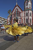 Morenada Dancer at the Arica Carnival, Chile Royalty Free Stock Photos