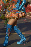 Morenada Dancer - Arica, Chile Royalty Free Stock Photography