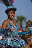 Morenada Dancer - Arica, Chile Royalty Free Stock Photo