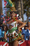 Morenada Dancer - Arica, Chile Royalty Free Stock Images