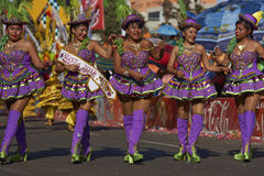 Morenada Dancers - Arica, Chile Stock Photo