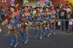 Morenada Dancers - Arica, Chile Stock Image