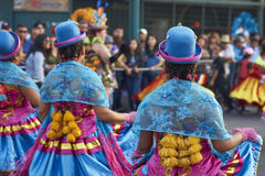 Morenada Dancers - Arica, Chile Stock Images