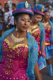 Morenada Dancers - Arica, Chile Royalty Free Stock Photography