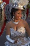 Morenada dansare - Arica, Chile Royaltyfria Bilder