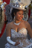 Morenada tancerz - Arica, Chile Obrazy Royalty Free