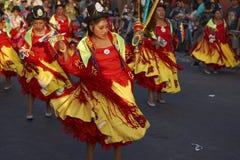 Morenadadansers - Arica, Chili Royalty-vrije Stock Foto