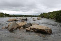 Morenekreek, Alaska Royalty-vrije Stock Afbeeldingen