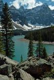 Morenemeer, het Nationale Park van Banff, Alberta, Canada Stock Fotografie