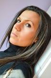 Morenita joven hermosa Imagen de archivo libre de regalías
