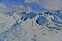 Moreno Glacier Στοκ Εικόνα