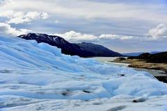 Moreno Glacier Στοκ Φωτογραφίες