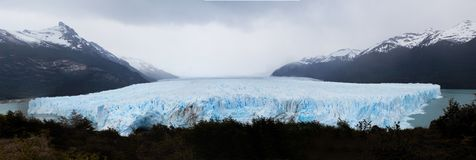 Moreno Glacier Panoramic Royalty Free Stock Photography