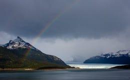 Moreno Glacier Rainbow Royalty Free Stock Image