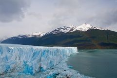 Moreno Glacier Rainbow with water Royalty Free Stock Images