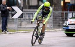Moreno Moser Team Cannondale - Garmin Στοκ Φωτογραφία