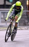 Moreno Moser Team Cannondale - Garmin Στοκ Εικόνες