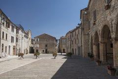 Moresco Fermo, Marche, Italia Immagine Stock Libera da Diritti