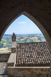 Moresco, fortificated town Royalty Free Stock Photo