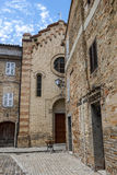 Moresco, fortificated town Royalty Free Stock Photos
