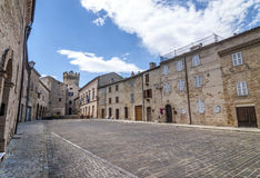 Moresco, fortificated town Stock Photography