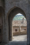 Moresco, fortificated town Stock Images