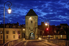 Moret-sur-Loing Stock Photography