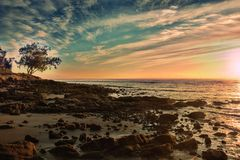 Moreton Bay Marine Park Stock Image