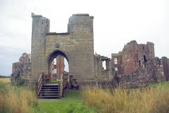 Moreton Corbet Castle royalty free stock photo