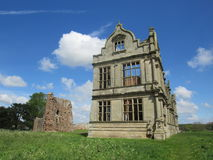 Moreton Corbet castle Stock Image