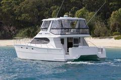 Moreton Insel-Leistung Yact Lizenzfreie Stockfotos