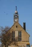 MORETON-IN-MARSH, GLOUCESTERSHIRE/UK - 24 DE MARZO: Torre de madera i Fotos de archivo libres de regalías