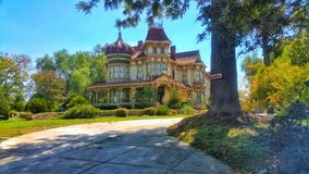 Morey Mansion - Redlands, California Royalty Free Stock Image