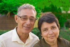 morföräldrar Royaltyfria Foton