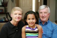 morföräldrar Royaltyfria Bilder