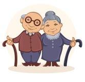 morföräldrar Royaltyfri Foto