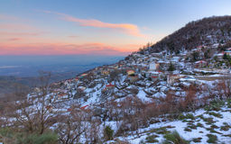 Morfovouni village, Karditsa, Thessaly, Greece Stock Images