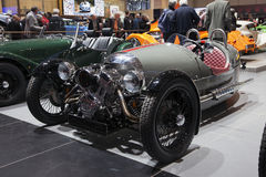 Morgan 3 Wheeler at Geneva Stock Photos