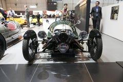 Morgan 3 Wheeler at Geneva royalty free stock images