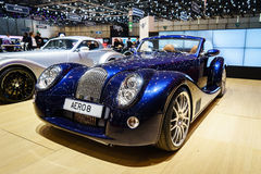 Morgan Aero 8, Motor Show Geneva 2015. Stock Photo