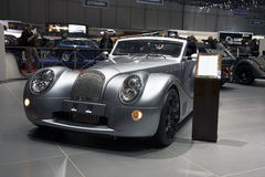 Morgan Aero SuperSports at Geneva Motor Stock Images