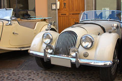 The Morgan Classic Car. This is a photo of a vintage Morgan auto Royalty Free Stock Photos