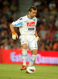 Morgan de Sanctis de SSC Napoli Photographie stock libre de droits