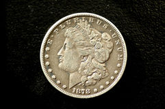Morgan Dollar 7 Feather Royalty Free Stock Photo