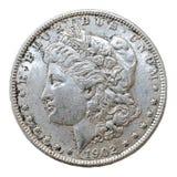 Morgan Dollar 1902 Arkivfoton
