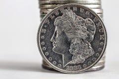 Morgan Dollar 1883 Royaltyfri Fotografi