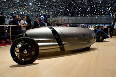 Morgan EV3 at Geneva 2016 Stock Image