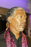 Morgan Freeman. Picture of Morgan Freeman model at Madam Tussauds Royalty Free Stock Images