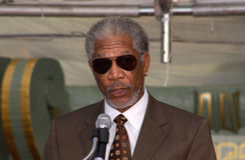 Morgan Freeman photographie stock libre de droits