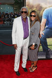 Morgan Freeman, Alexis Freeman obrazy royalty free